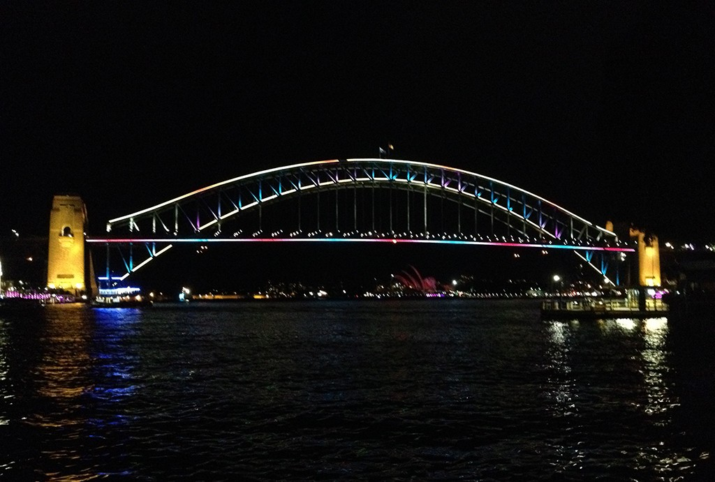 Sydney Harbor Bridge in Sydney Australia